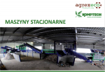 maszyny stacjonarne komptech agrex-eco
