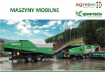 mobilne komptech agrex-eco