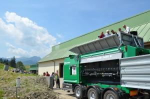 Rozdrabniacz do odpadów wielkogabarytowych TERMINATOR 3400 D