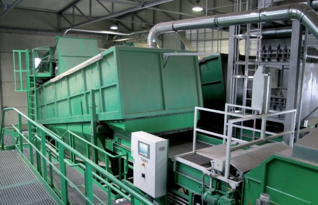 Separator balistyczny Ballistor produkcji firmy Komptech (Austria)
