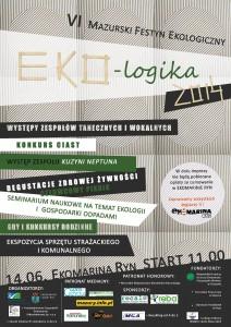 plakat Eko-Logika 2014