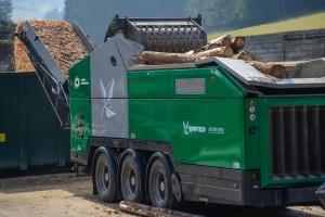 axtor 6010 nowość komptech agrex-eco uniwersalny rozdrabniacz biomasa