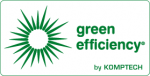 green efficiency logo komptech