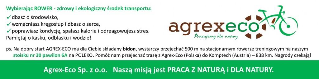 kampania społeczna agrex-eco poleko 2014 rowerem po zdrowie