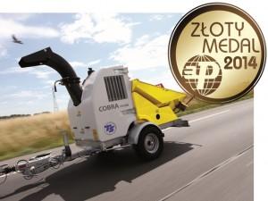 cobra złoty medal ts industrie poleko 2014 agrex-eco
