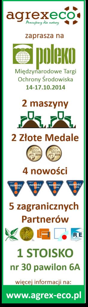 poleko zaproszenie agrex-eco 2014