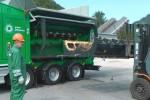 Crambo direct wymiana koszy komptech green efficiency rozdrabniacz do biomasy