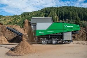 Multistar L3 Przesiewacz gwiaździsty nowość komptech agrex-eco green efficiency
