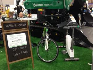 kampania społeczna agrex-eco rower poleko 2014