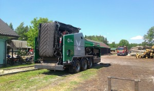 Axtor transport  komptech agrex-eco biomasa innowacja abramczyk referencja