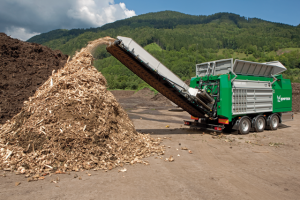 Crambo mobilne rozdrabniacz do biomasy komptech agrex-eco