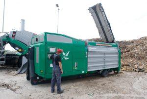 crambo lubartow komptech agrex-eco rozdrabniacz odpady zielone