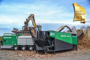 multistar one nagroda żagiel rozwoju agrex-eco innowacja biomasa przesiewacz