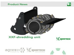 xxf komptech zęby agrex-eco