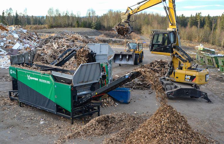 crambo direct rozdrabniacz biomasa komptech multistory one przesiewacz gwiaździsty