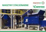 stacjonarne maszyny komptech agrex-eco