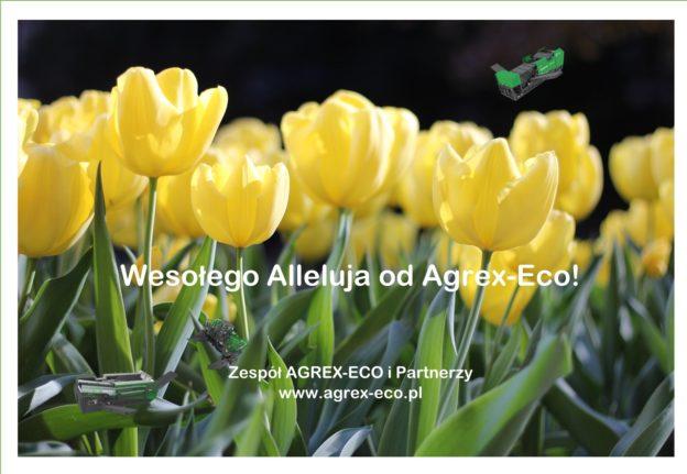 Wesolego zyczenia wielkanoc Agrex-Eco