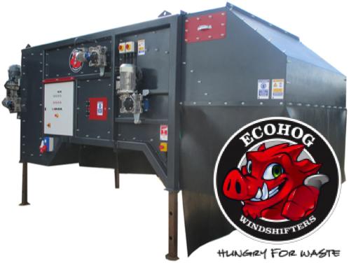 ecohog separator powietrzny agrex-eco kompaktowy gęstość od ręki