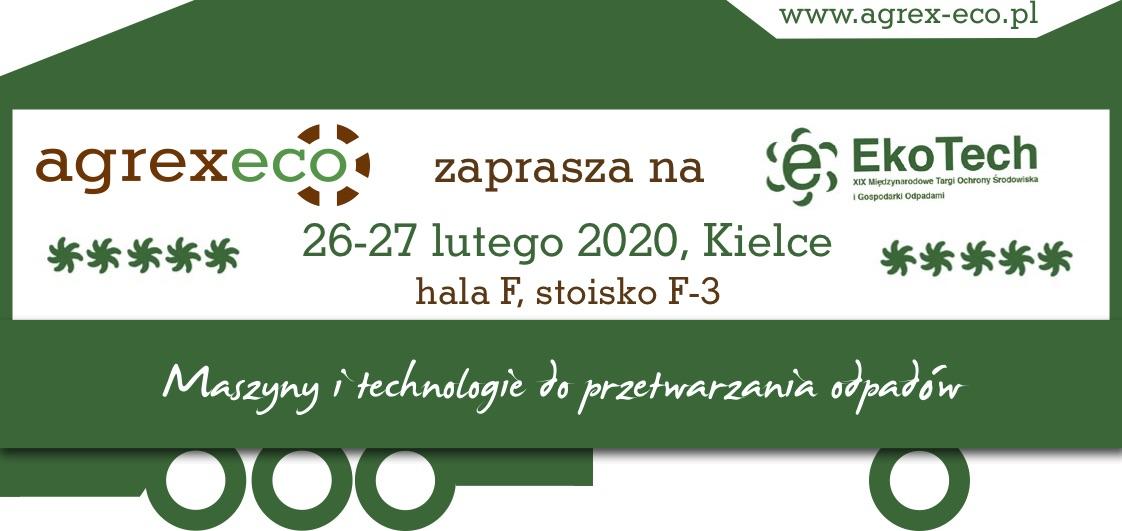 agrexeco ekotech 2020 zaproszenie targi