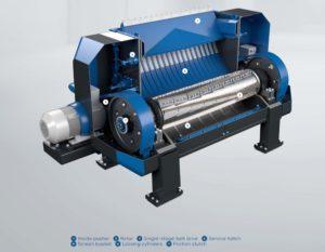 aduro s rozdrabniacz nowość nowy recykling andritz