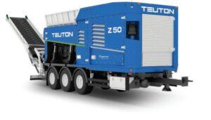 teuton z50 eggersmann agrex-eco poleco 2021 rozdrabniacz mobilny